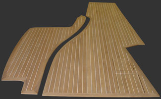 Hardwood Teak Boat Flooring For Builders And Repair