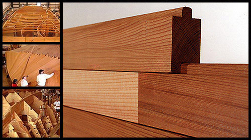 Speed Strip Planking For Wooden Boat Hull Construction Cold Molded