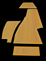 MARITIME Cabin Sole Flooring, Custom Yacht Interior, Solid Teak ...